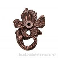 Carpe Diem Hardware Carpe Diem 538-22 Bacchus Single grape leaf & vine escutcheon Oil Rubbed Bronze Oil Rubbed Bronze - B00GHXKLJ4
