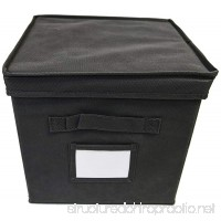 Origami RB-CUBE2-BL Cube for Book Shelf Black 2-Piece - B00OPH3QPA