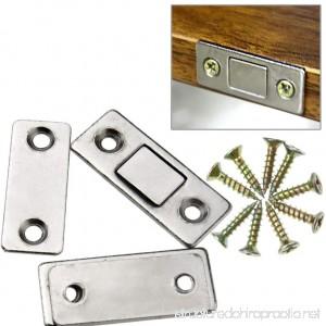 2 x Ultra Thin Door Catch Latch Furniture Magnetic Cabinet Cupboard Glass - B01MUOVLPL