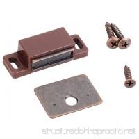 MPJ Box of 10- 15lb Single Magnetic Catches Brown/Antique Copper Retail Pack - B073TM72SL