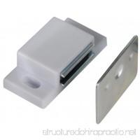 Richelieu #AP52030U - Magnetic Cabinet Catch - White - 10 Count - B01E94UBLA