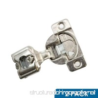 2 Pack Rok Hardware Grass TEC 864 108 Degree 1 Overlay 3 Level Soft Close Screw On Compact Cabinet Hinge 04441A-15 3-Way Adjustment 45mm Boring Pattern - B0723B5G6W