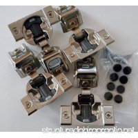 "Combo: 4 Pcs  Blum 39C358B.20 - COMPACT BLUMOTION  1-1/4"" overlay  Press-in Hinge - B00J72YEH2"