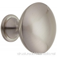10 Pack - Rok Hardware Contemporary Metal Knob Brushed Nickel 1-3/16 Diameter ROKK101BN - B00SMEIEGI
