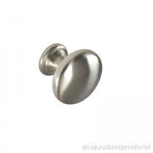 #2845 CKP Brand Knob Brushed Nickel - 25 Pack - B073X44WGY