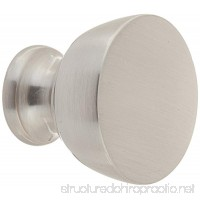 Southern Hills Satin Nickel Cabinet Knobs - Pack of 5 -Brushed Nickel Knobs - Round - Pack of 5 - Kitchen Drawer Pulls SHKM013-SN-5 - B00ED2EVLU
