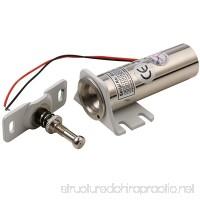 MATEE DC12V Metal Fail Safe NC Mode Electric Cabinet Lock 330lb Holding Force For File Cabinet & Display Case - B075V1KFK8