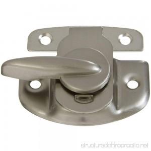 National Hardware N325-373 V602 Tight Seal Sash Lock in Satin Nickel - B000OFXILO