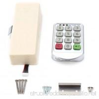 Zerodis Electronic Cabinet Lock Kit Set Keyless Digital Keypad Door Lock with Password Entry - B07DGRJ928