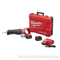 MILWAUKEE 2721-22 M18 FUEL SAWZALL RECIPROCATING SAW (Certified Refurbished) - B07FNVV679