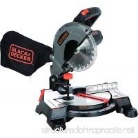 Black+Decker M1850BD 7-1/4 Compound Miter Saw - B01LWYCCCT
