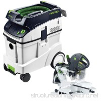 Festool KS 120 Dual Compound Sliding Miter Saw + CT 48 E Dust Extractor Package - B005UB5CDE