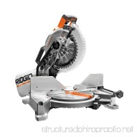 RIDGID 15-Amp 10 in. Dual Bevel Miter Saw with Laser - B00P9NNZ2S