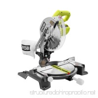 Ryobi 14-Amp 10 in. Compound Miter Saw in Green - B07111WWBS